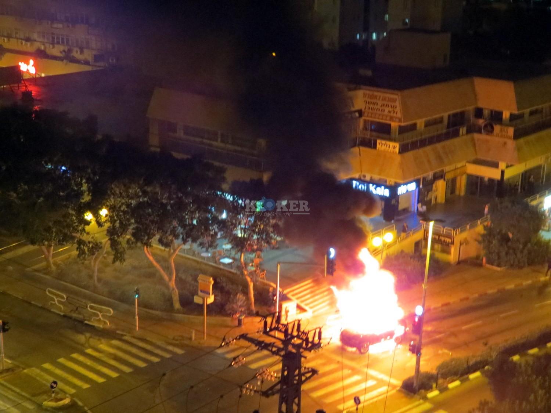 אש , פיצוץ באשדוד מליזה ללוצשוילי אין צורך קרדיט (7)