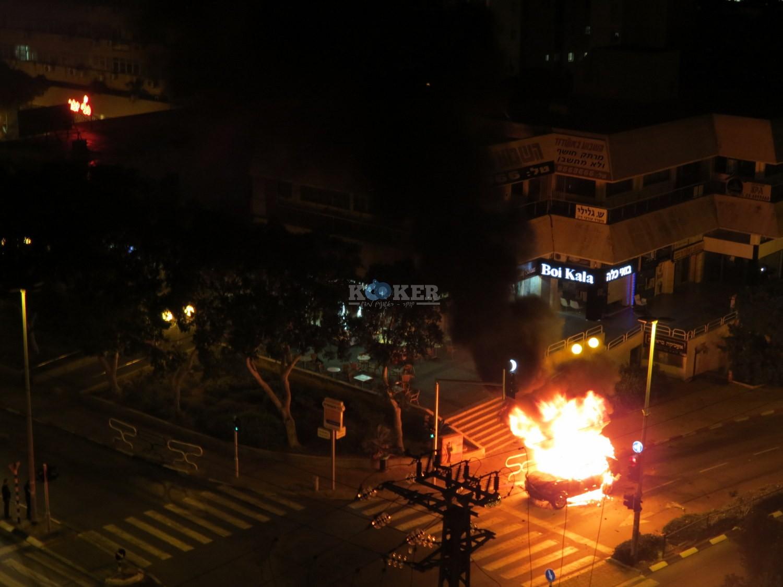אש , פיצוץ באשדוד מליזה ללוצשוילי אין צורך קרדיט (8)