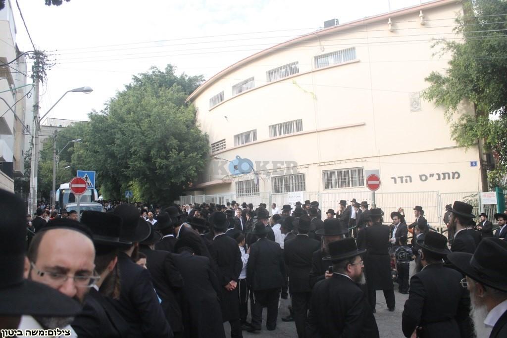 הלוויה הרב שלוש חיפה (1)