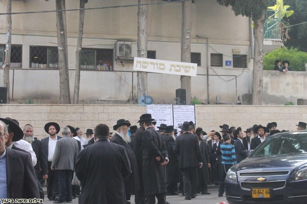 הלוויה הרב שלוש חיפה (27)
