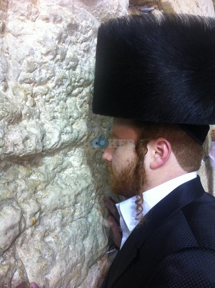 שמואל דריי בכותל