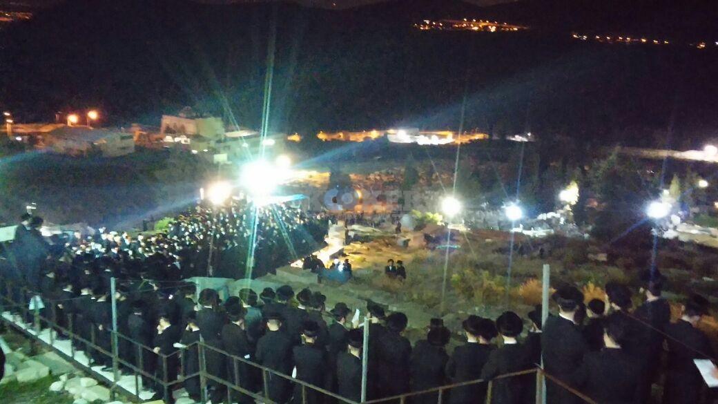 בת עין רבי אלימלך בידרמן עם פארנצ'עס צילם דוברות אור הרשב''י (2)