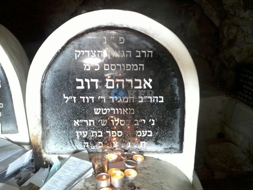 בת עין רבי אלימלך בידרמן עם פארנצ'עס צילם דוברות אור הרשב''י (4)