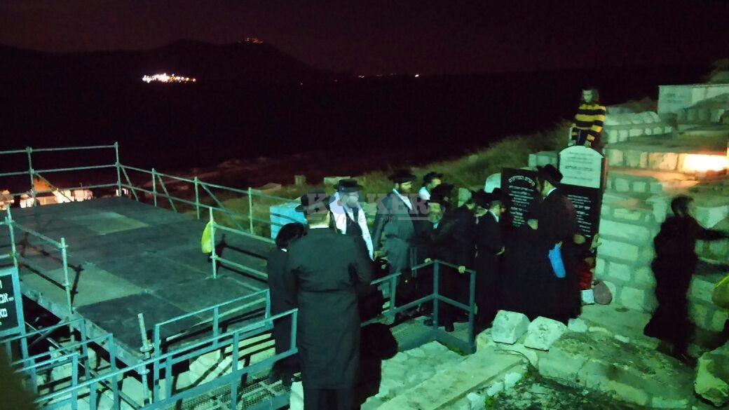 בת עין רבי אלימלך בידרמן עם פארנצ'עס צילם דוברות אור הרשב''י (5)