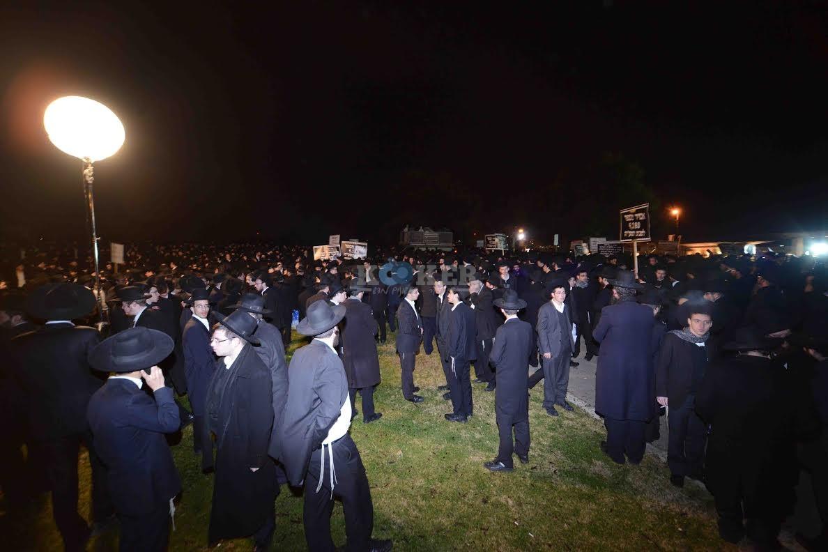 הפגנה בחורי ישיבות עריקים צילם משה בן נאים חדשות 24 (10)