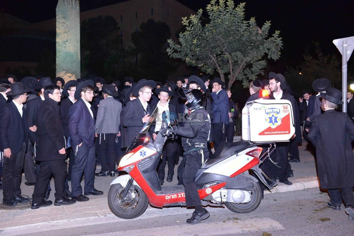 הפגנה בחורי ישיבות עריקים צילם משה בן נאים חדשות 24 (17)