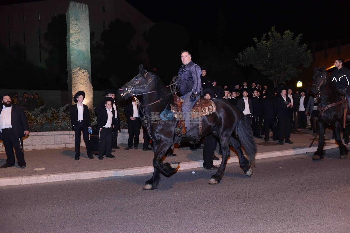 הפגנה בחורי ישיבות עריקים צילם משה בן נאים חדשות 24 (18)