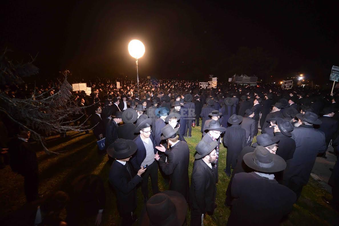 הפגנה בחורי ישיבות עריקים צילם משה בן נאים חדשות 24 (7)