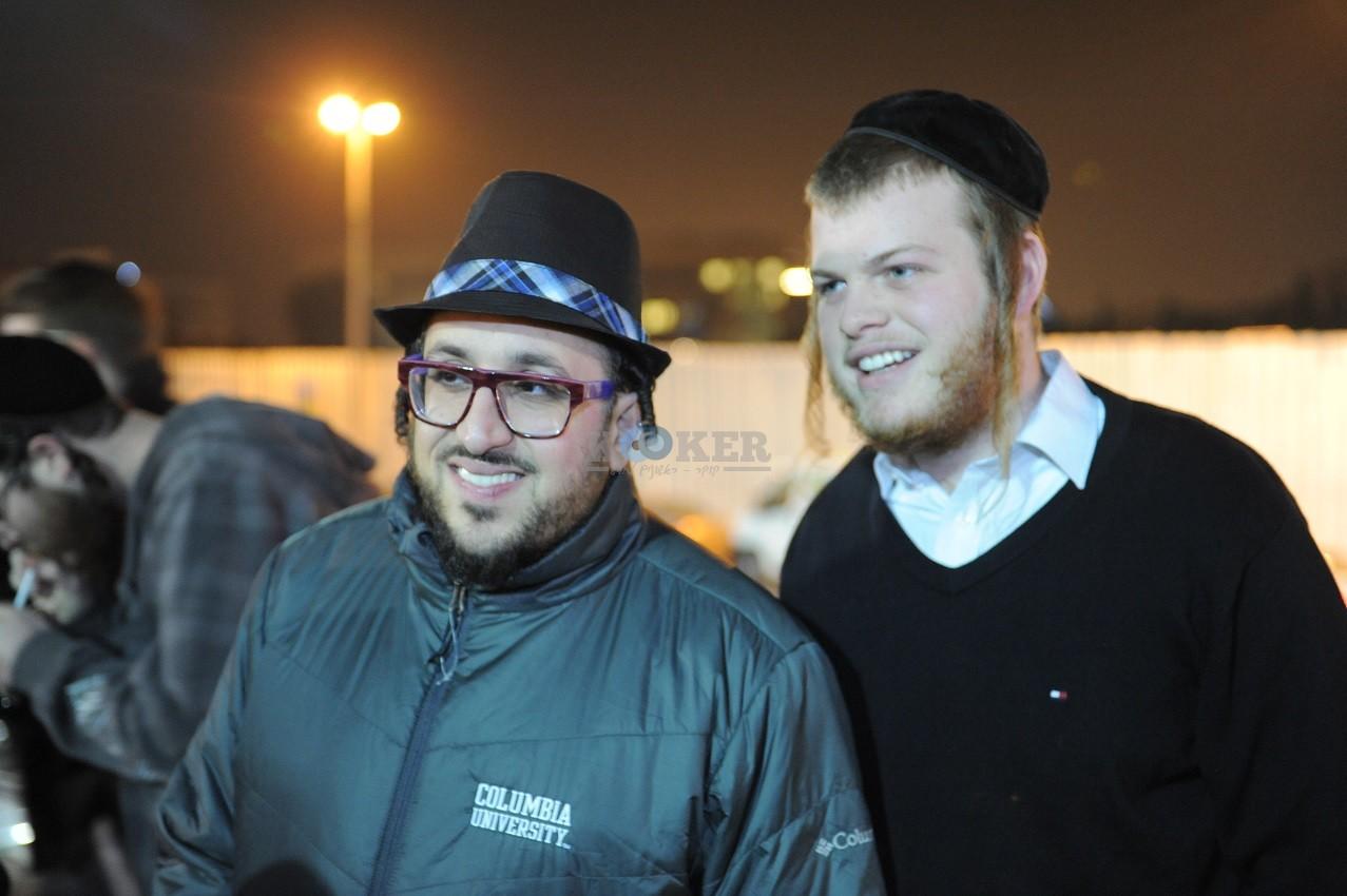 ליפא+דודו פישר בכיכר ציון צילום יוחאי כהן (6)