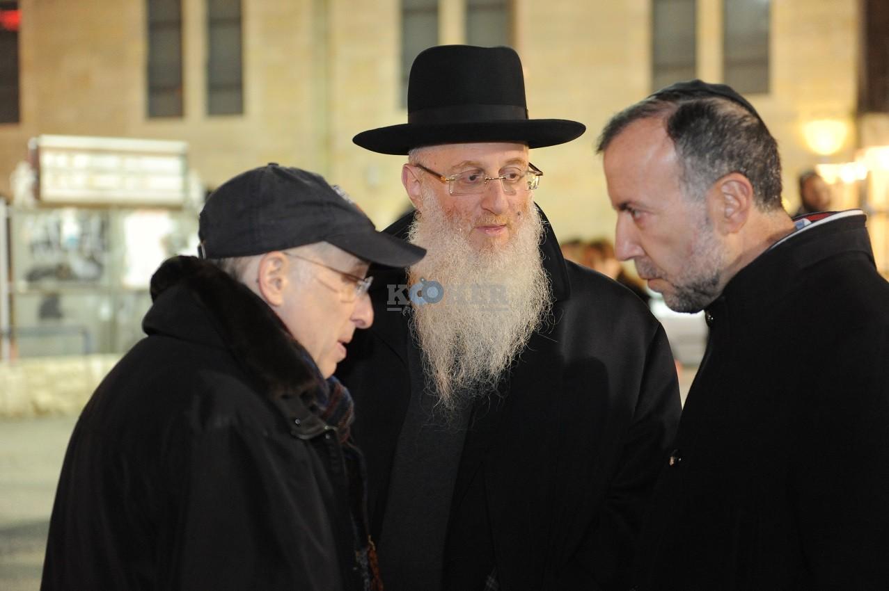 ליפא+דודו פישר בכיכר ציון צילום יוחאי כהן (7)