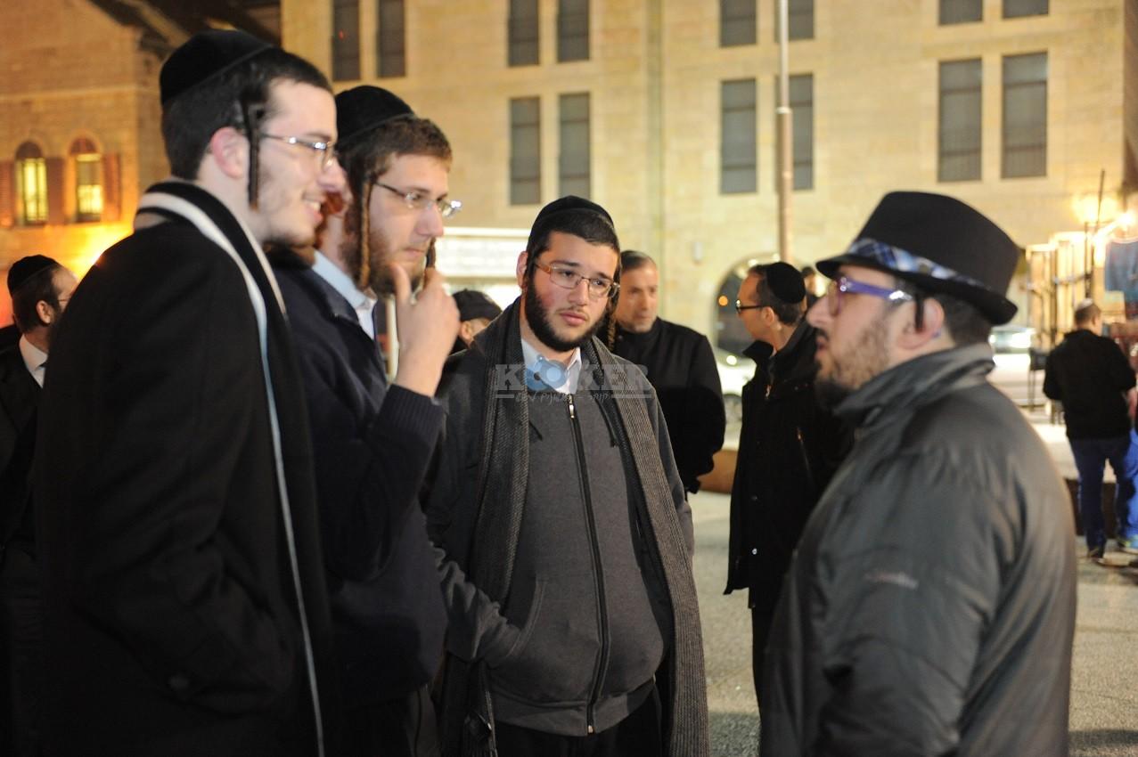ליפא+דודו פישר בכיכר ציון צילום יוחאי כהן (8)
