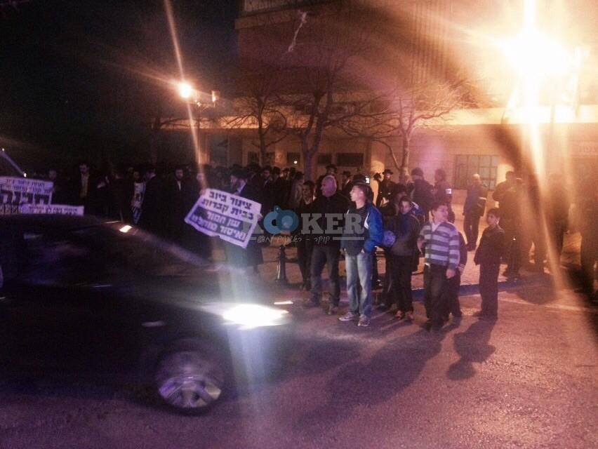 הפגנה נגד ביוב בצפת צילם שמחה גולדברג 24 (3)