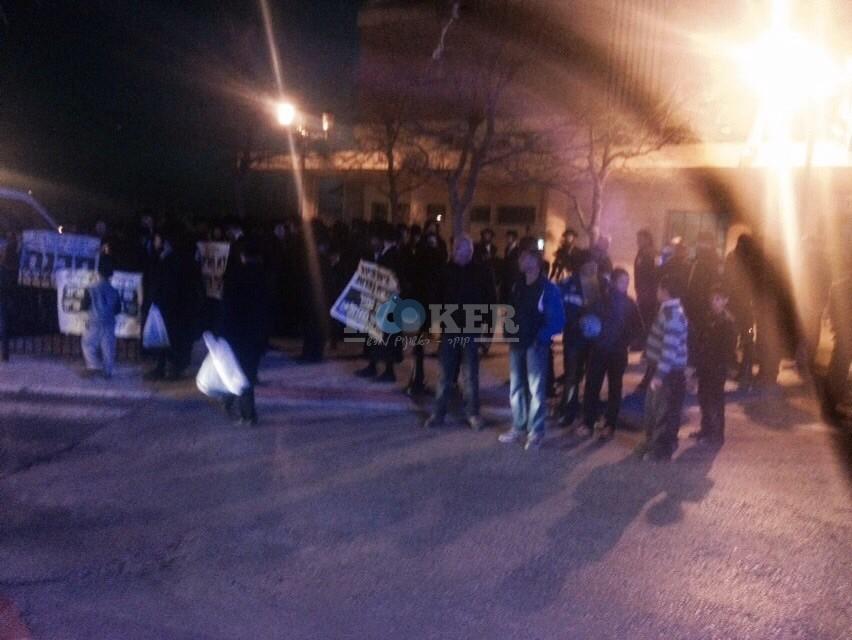 הפגנה נגד ביוב בצפת צילם שמחה גולדברג 24 (6)