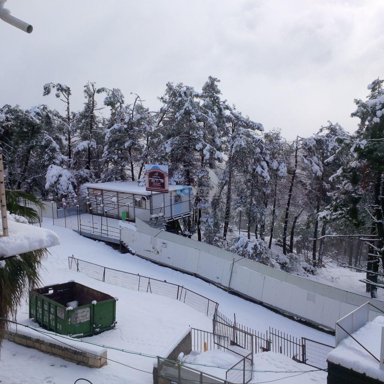 שלג במירון צילם דוברות חסדי שבתאי (4)