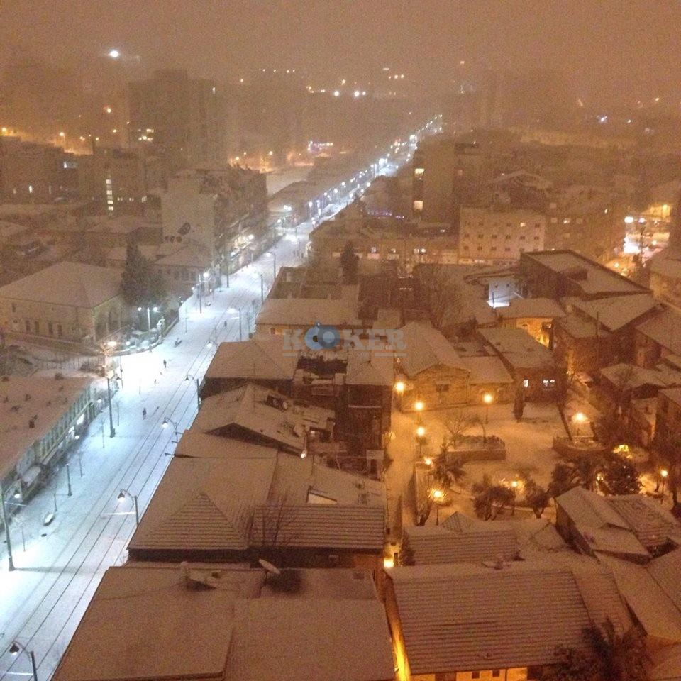 שלג לבן - צילום: הדס סיימון