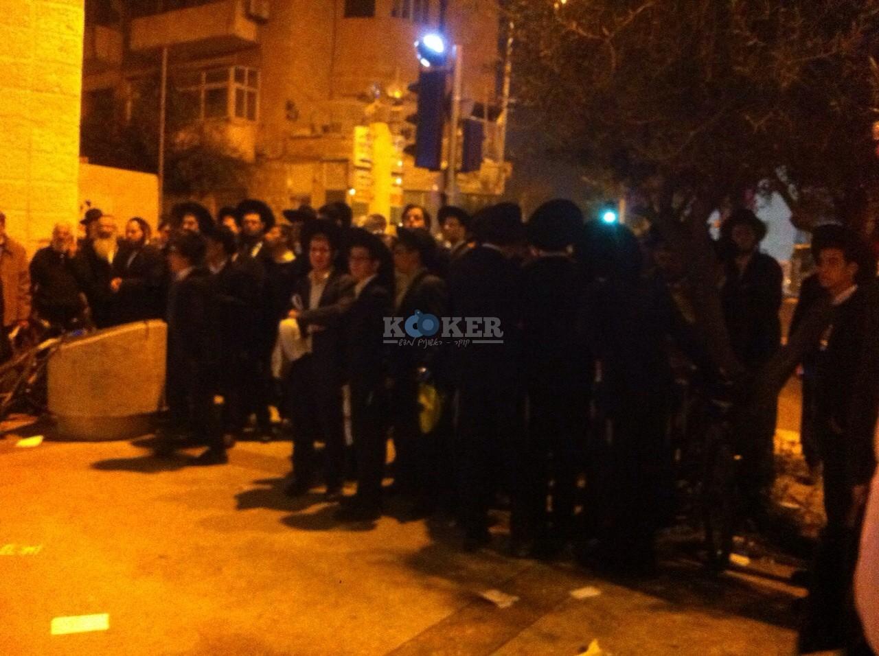 הפגנה נגד אמנון יצחק צילם חיים פביאן - סוכנות הידיעות חדשות 24 (4)