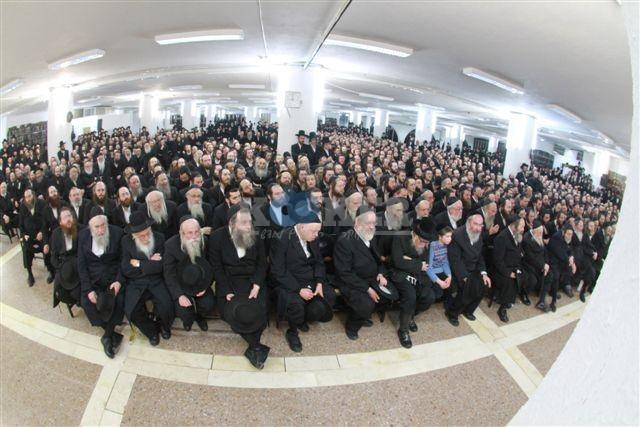 כינוס גור ליהדות התורה - קרדיט צילום: בן ארי בועז