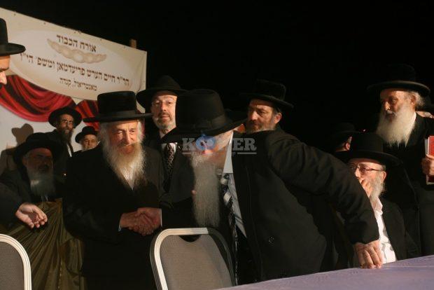 עם הגר''מ רבינוביץ ר''י אור ישראל