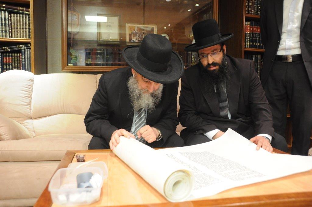הגאון רבי דוד יוסף חבר מועצת חכמי התורה