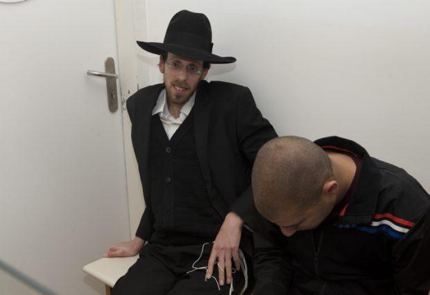 אברהם טריגר במעצר. צילום: פלאש 90