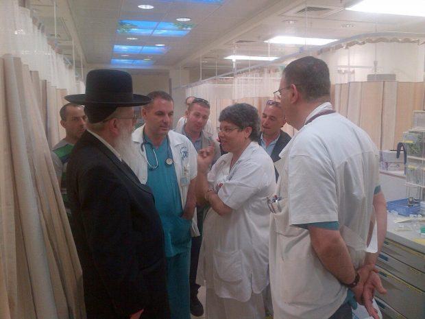 ליצמן בבית החולים