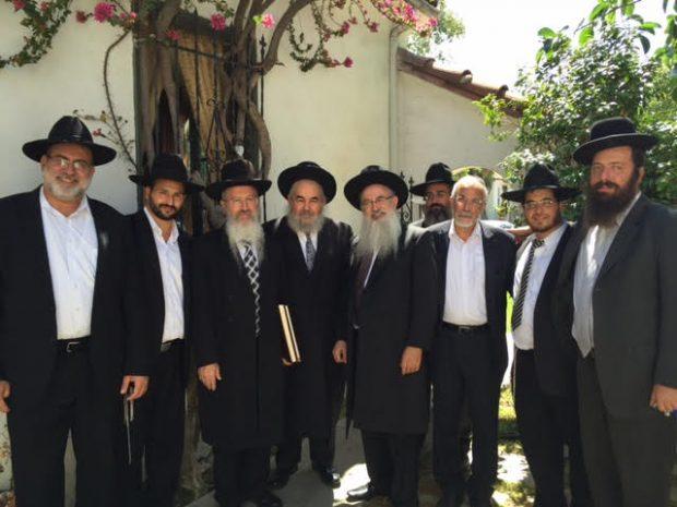 הרב אברהם יוסף בלוס אנגלס מיצחק לסרי