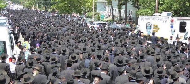 הלויה הרבנית קוטלר 1