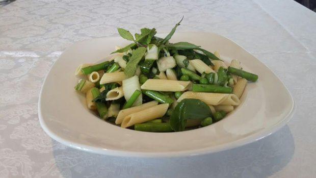 פסטה עם ירקות ירוקים - ה ... צילום שף מאיר רונברג
