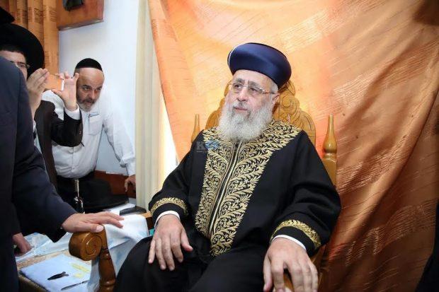 הרב יצחק יוסף סנדק צילם קובי כץ 24