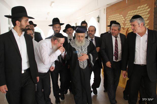 יום עיון עם אבוחצירא , דרעי, הרב יצחק יוסף צילם יעקב כהן (20)