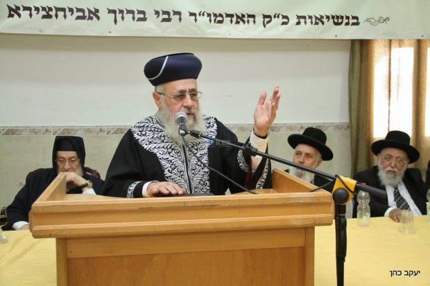 יום עיון עם אבוחצירא , דרעי, הרב יצחק יוסף צילם יעקב כהן (26)
