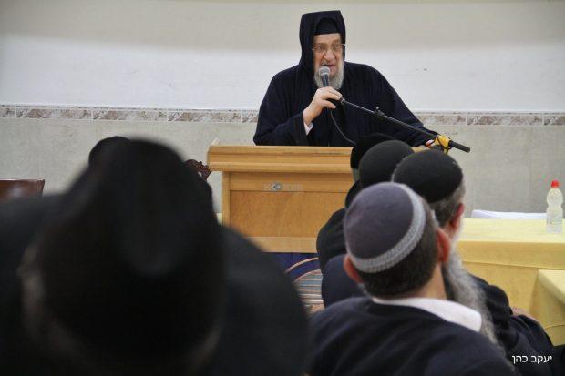 יום עיון עם אבוחצירא , דרעי, הרב יצחק יוסף צילם יעקב כהן (43)