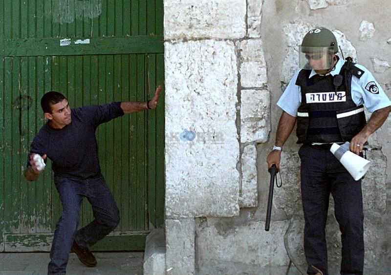 התפרעויות בירושלים. צילום: פלאש 90