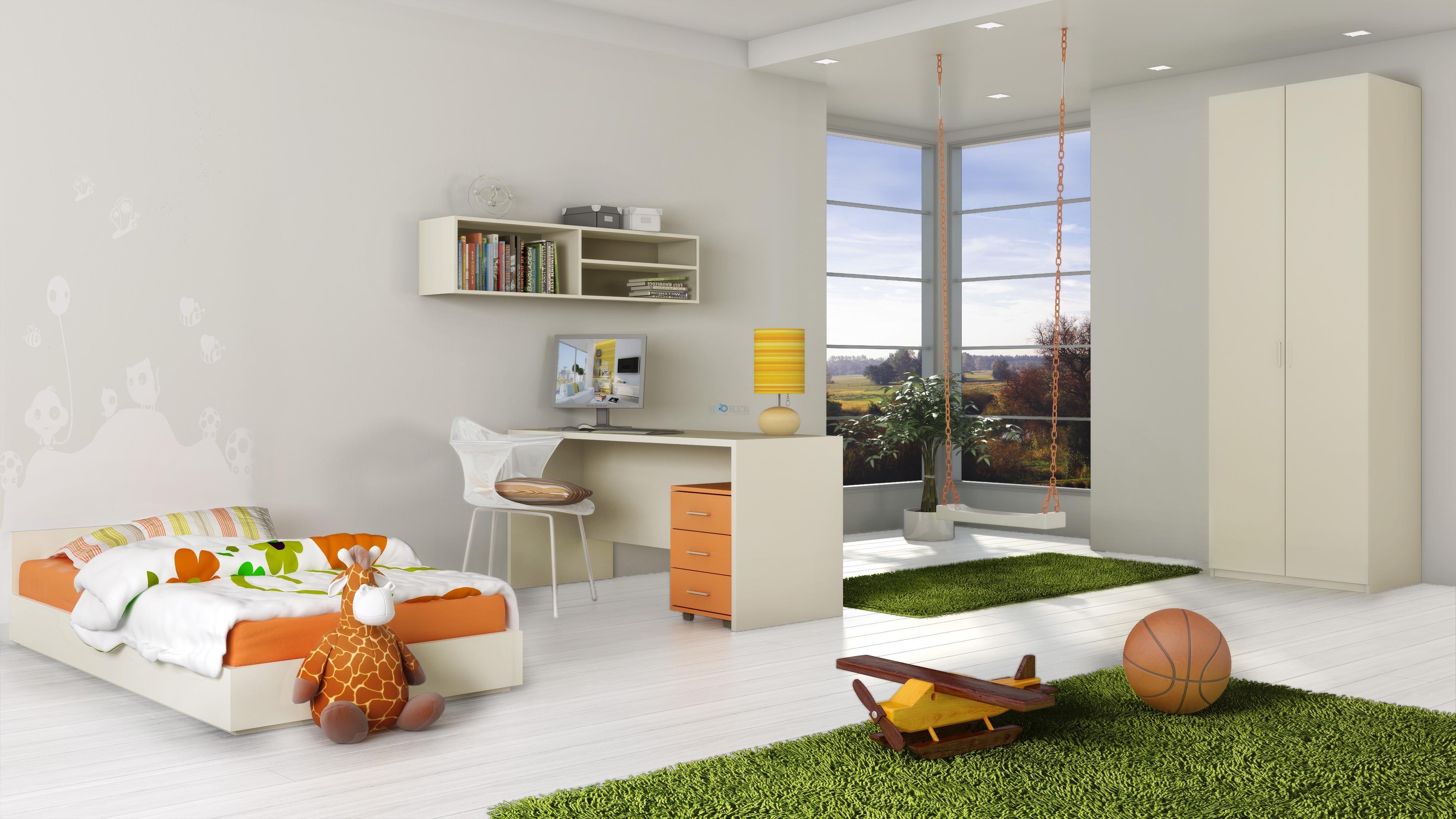 חדר עומר- 2800 שח. כולל ארון 2 דלתות, פינת לימוד, מיטה ומזרן.