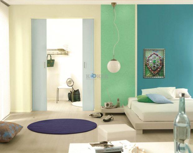 תאורה וצבע משפיעים על מראה החדר ותפיסתו כמרווח או צפוף