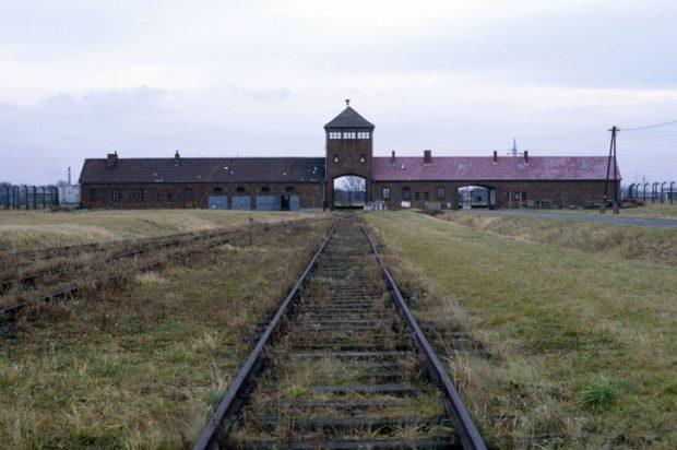 The wire fence extermination of Auschwitz