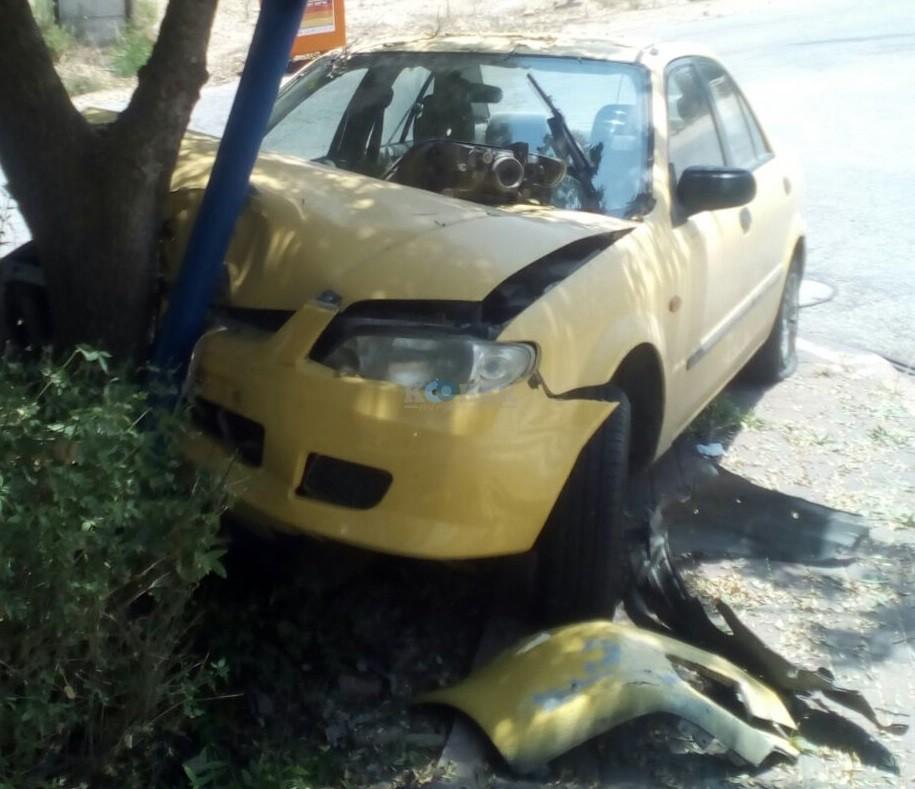 רכבים לפירוק בזמן התאונה