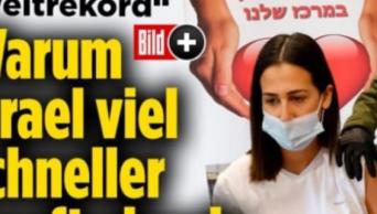 אתר בילד על החיסונים בישראל | צילום: מרים אלסטר, פלאש 90